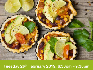 mexican cookery evening class 26-2-19