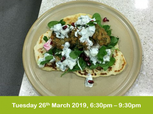 Middle Eastern cookery 26-3-19