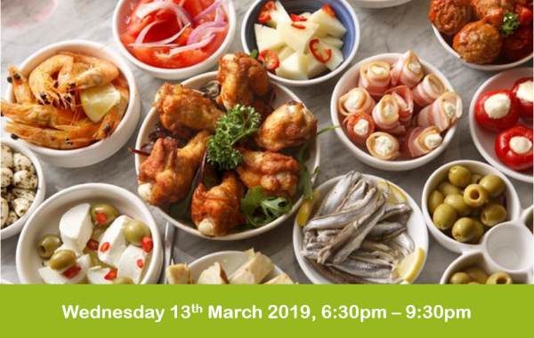 Tapas evening cookery class 13-03-19