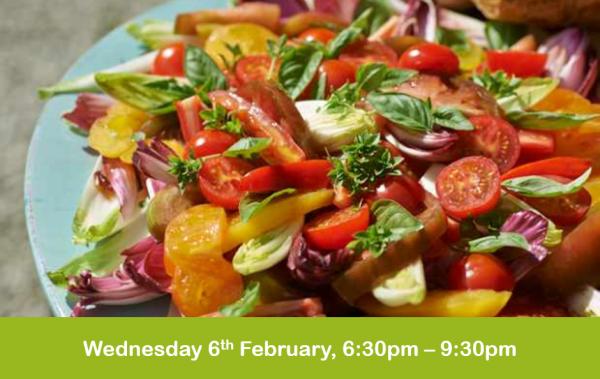 Vegan Cookery evening class 6-2-19 cheshire cookery school